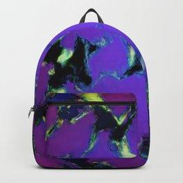 Soft blue shatter Backpack