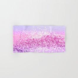 Pink Purple MERMAID Girls Glitter #1 #shiny #decor #art #society6 Hand & Bath Towel