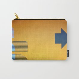 Abstract Signage Carry-All Pouch