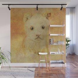 Little Lion cub Wall Mural