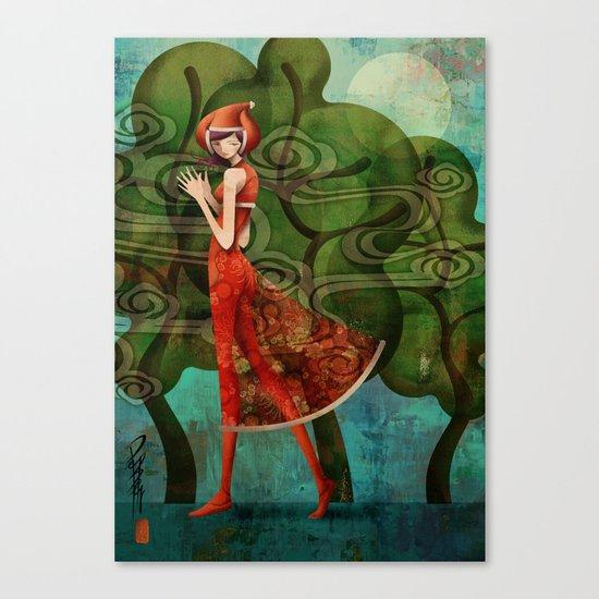 Pepper Moonlight Canvas Print