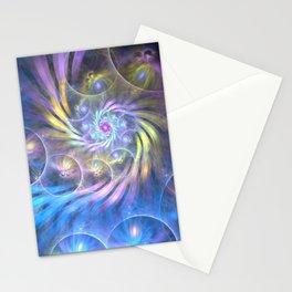 fractal: spiralling soul Stationery Cards