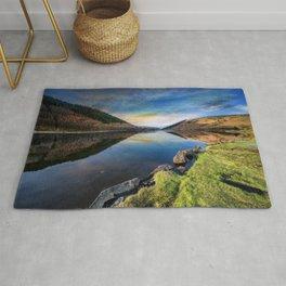 Lake Geirionydd Sunset Rug
