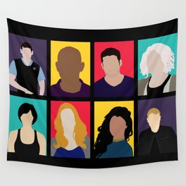 Sense8 Colors Wall Tapestry