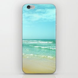 Vintage summer iPhone Skin