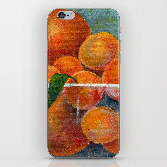 tangerines iPhone & iPod Skin