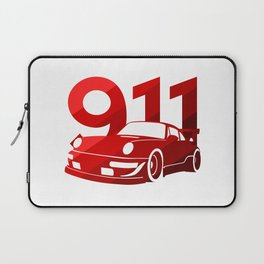 Porsche 911 - classic red - Laptop Sleeve