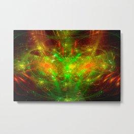 Crab Stardust- The Mind Senses Metal Print