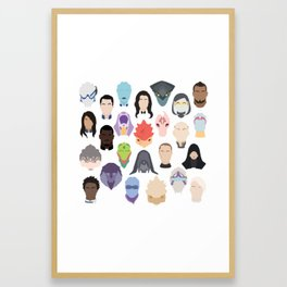 Choose Your Entire Party Framed Art Print