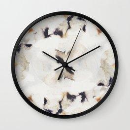 Ink and coffee II Wall Clock