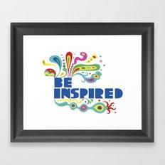 Be Inspired Framed Art Print