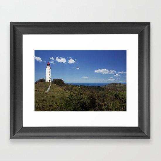 hiddensee Framed Art Print