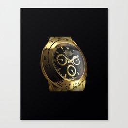 gold watch Canvas Print