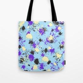 Vivid Contrast Splash 03 Tote Bag
