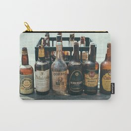 Vintage Whiskey Carry-All Pouch