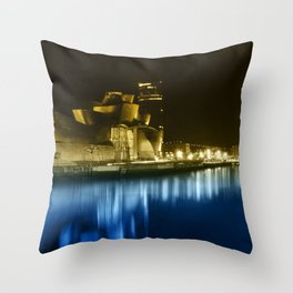 Colorful Guggenheim Throw Pillow