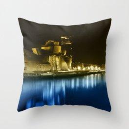 Colorful Guggenheim Throw Pillow