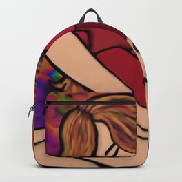 Strong and Brokenhearted Backpack