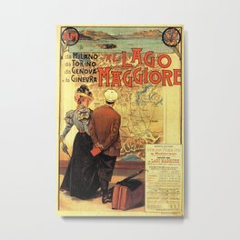 Vintage poster - Lago Maggiore Metal Print