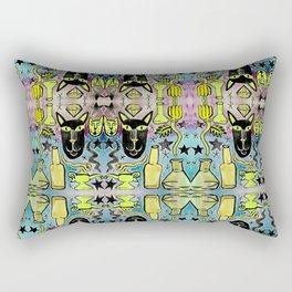 Bubbling Magic Potion & Black Cat Rectangular Pillow