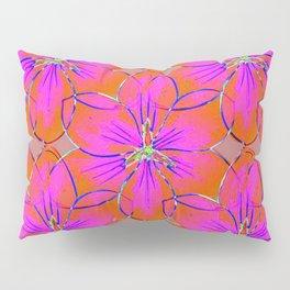 Flower Sketch 4 Pillow Sham
