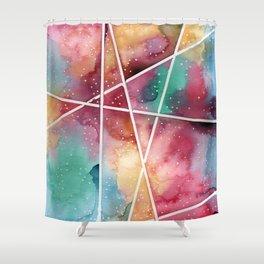 masking experiment 1 Shower Curtain