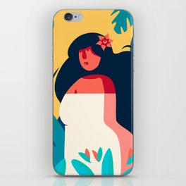 Woman owner of herself iPhone Skin