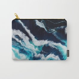 Crashing Abstract Painting Carry-All Pouch