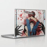evil Laptop & iPad Skins featuring Evil by Spectacle Photo