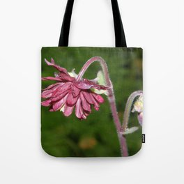 Burgundy After The Rain Tote Bag