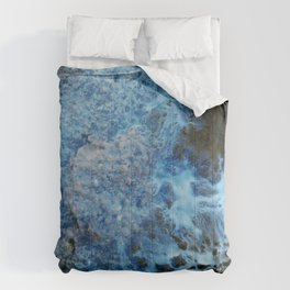 Blue marble Comforters
