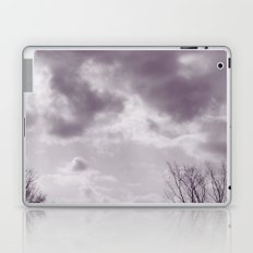 Purple Clouds Laptop & iPad Skin