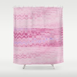 Kissable Pink Shower Curtain