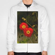 Yang Poppies Hoody