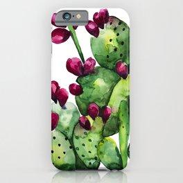 Prickly, Prickly Pear Cactus iPhone Case