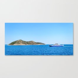 Remote Island Canvas Print