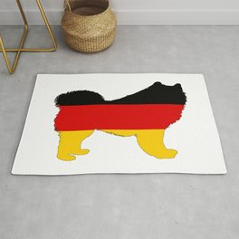 German Flag - Samoyed Rug