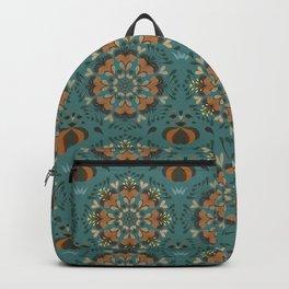Autumn flower pattern 1e Backpack