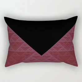 a+b+c+ac+abc (mod 4) (plum) Rectangular Pillow