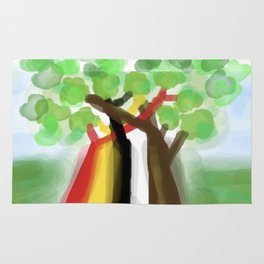 United Trees of Growth Rug