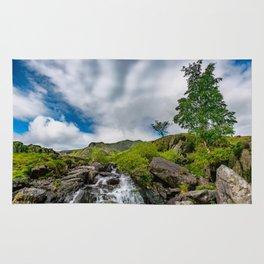 Cwm Idwal Rapids Snowdonia Rug