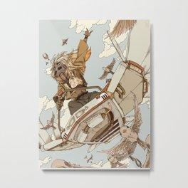 Sky Fighter Metal Print