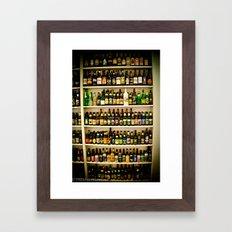 mmm. Framed Art Print