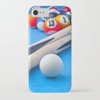 gaming iPhone & iPod Cases featuring Gaming Table by Valerie Paterson