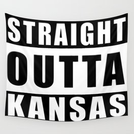 Straight Outta Kansas Wall Tapestry