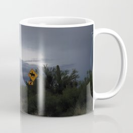 Horse Crossing Coffee Mug
