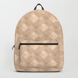 simple geometric pattern. Backpack
