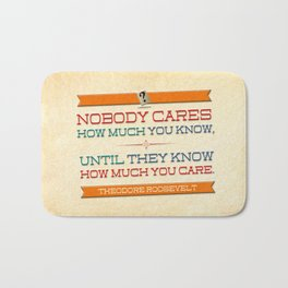 How Much You Care Bath Mat