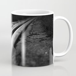 Abstract view on the railroad Coffee Mug