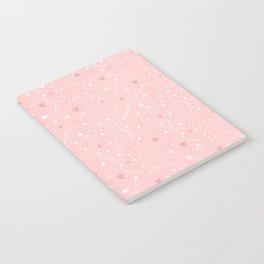 Pink stars Notebook